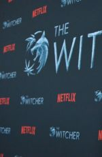 Anya Chalotra At The Witcher Season 1 Photocall in Hollywood