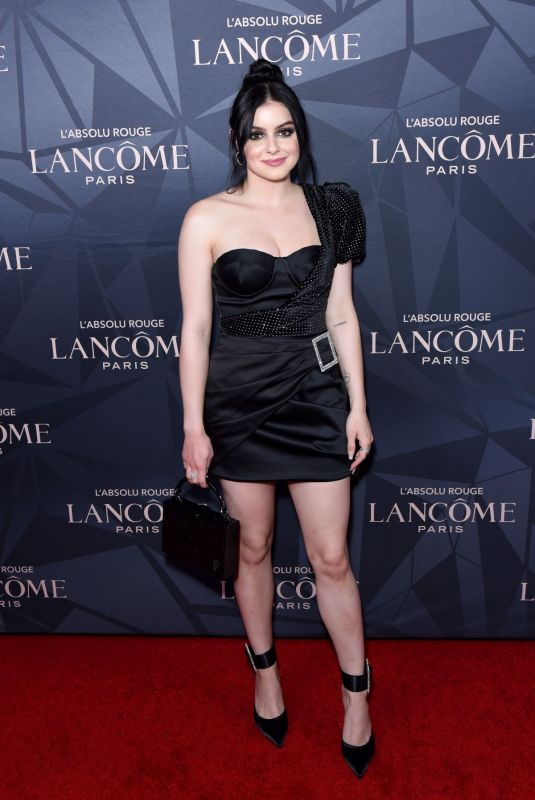 Ariel Winter At Lancome x Vogue L'Absolu Ruby Holiday Event in West Hollywood
