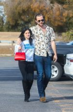 Ariel Winter At Patys Restaurant in LA