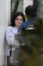 Ariel Winter Gets Food Delivered to Her Home in Studio City