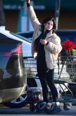 Ariel Winter Grocery shopping in Los Angeles