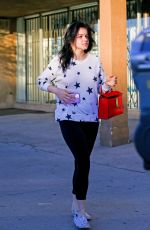 Ariel Winter Looks happy during a nail salon visit in Studio City