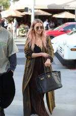 Ashlee Simpson Shopping in Beverly Hills