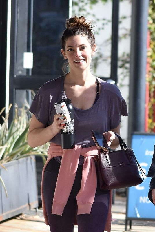 Ashley Greene Out with a friend in Studio City