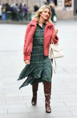 Ashley Roberts Spotted leaving Global radio in London