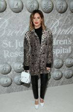 Ashley Tisdale At Brooks Brothers Annual Holiday Celebration in West Hollywood