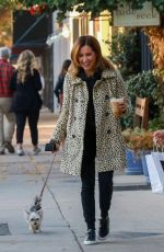 Ashley Tisdale Out for a coffee run at Joan