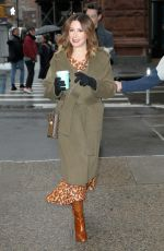 Ashley Tisdale Outside the BUILD Series in New York City