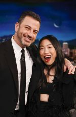 Awkwafina At Jimmy Kimmel Live