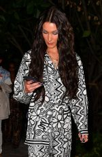 Bella Hadid Leaving Swan after dinner in Miami