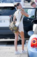 Bella Hadid Preparing to leave St. Barts