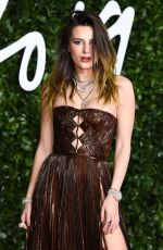 Bella Thorne At The Fashion Awards at Royal Albert Hall in London