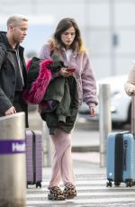 Bella Thorne Spotted catching a flight out of London