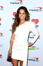 Brooke Burke At KIIS FM