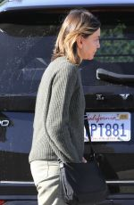 Calista Flockhart Pictured Christmas shopping in West Hollywood