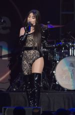 Camila Cabello Performing at B96 Jingle Bash at the Allstate Arena in Chicago
