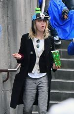 Cara Delevingne and Ashley Benson Keep things casual as they stroll around Disneyland