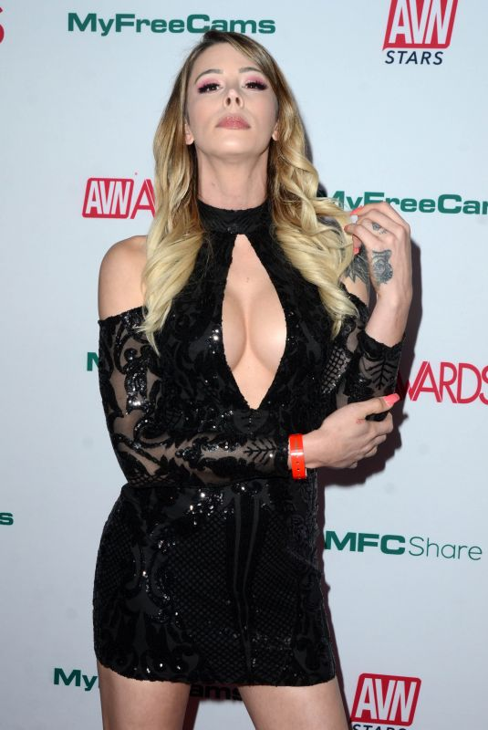 Casey Kisses At Adult Video News Awards Nominations Announcement in Hollywood