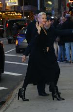 Charlize Theron Arriving at Good Morning America in New York