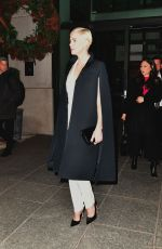 Charlize Theron Leaving her New York hotel