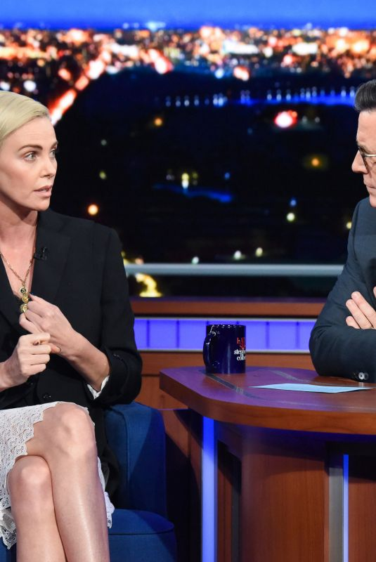 Charlize Theron - The Late Show with Stephen Colbert