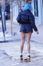 Charlotte Lawrence Spotted decked out in head-to-toe Chanel in Aspen