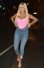 Chloe Ferry ,Charlotte Crosby and Sophie Kasaei The Geordie Trio were out in Newcastle
