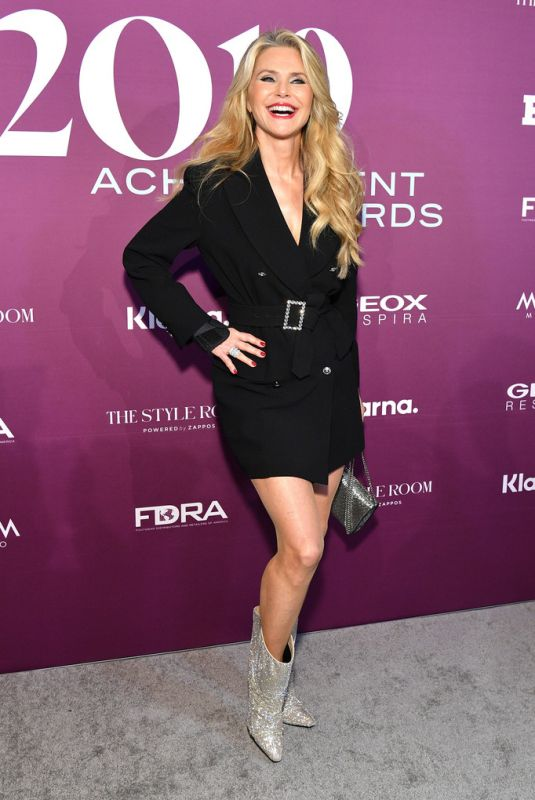 Christie Brinkley At 2019 FN Achievement Awards in NYC