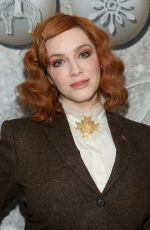 Christina Hendricks At Brooks Brothers Annual Holiday Celebration in West Hollywood