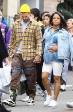 Christina Milian Seen at The Grove outdoor shopping center in West Hollywood