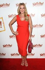"Claire Sweeney Attends the press night performance of ""Nativity! The Musical"" at The Eventim Apollo, Hammersmith in London"