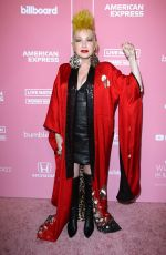 Cyndi Lauper At 2019 Billboard Women in Music, Los Angeles