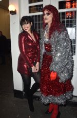 Daisy Lowe At Absolute crackers Christmas party in London