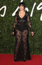 Daisy Lowe On the red carpet during The Fashion Awards at Royal Albert Hall in London