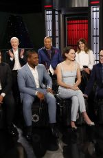 Daisy Ridley At Jimmy Kimmel live