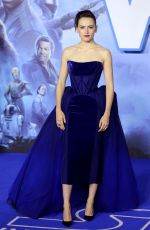 "Daisy Ridley At ""Star Wars: The Rise of Skywalker"" Premiere in London"