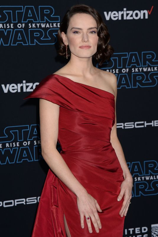 Daisy Ridley At Star Wars: The Rise Of Skywalker Premiere in Los Angeles