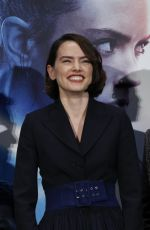 Daisy Ridley At Star Wars: The Rise of Skywalker Press Conference in Tokyo