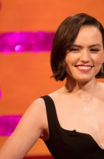 Daisy Ridley At The Graham Norton Show in London