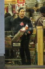 Demi Lovato Gets in the holiday spirit, purchasing gift wrapping paper with a friend