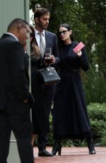 Demi Moore Leaves Harry Morton