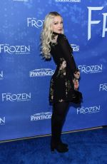"""Dove Cameron At LA Premiere Of """"Frozen"""" at the Hollywood Pantages Theatre"""