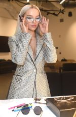 Dove Cameron Designs her new collection with Prive Revaux in Los Angeles