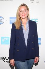 Elisabeth Rohm At Stars Shop Small For WeHo On Small Business Saturday at Ysabel Restaurant in West Hollywood