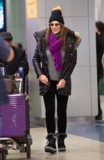 Elizabeth Hurley At JFK