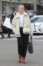 Elle Fanning Shopping in Beverly Hills