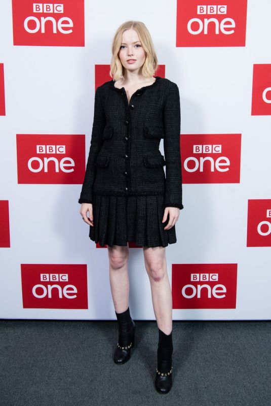 Ellie Bamber At The Trial of Christine Keeler Premiere in London