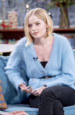 Ellie Bamber At This Morning TV Show in London