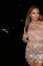 Elma Pazar At Night out in London