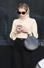 Emma Roberts Shopping in Los Angeles